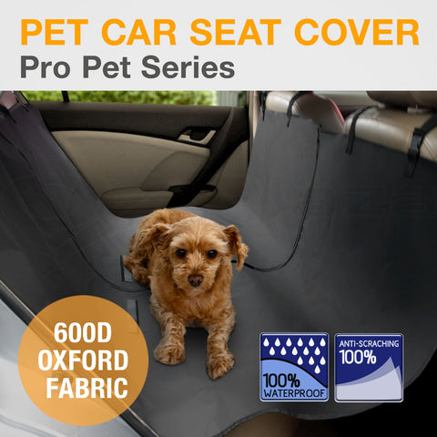 Pet Car Seat Cover Dog Puppy Cat Hammock Protector Mat, Back Seat Cover