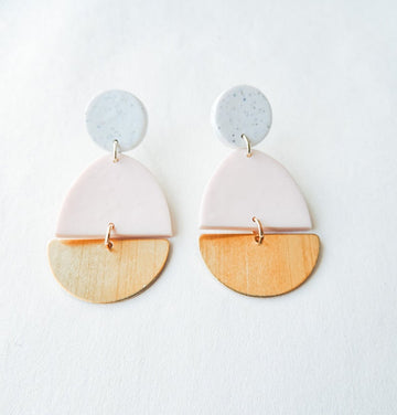 Beth Clay and Colour Earrings