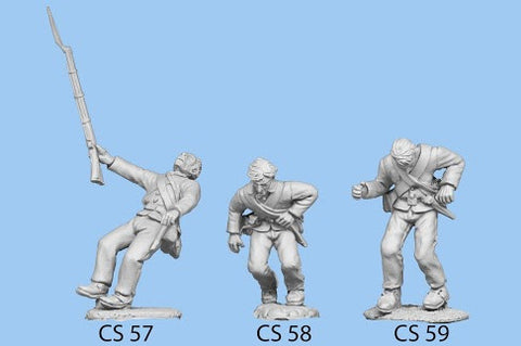 CS-59 Confederate Infantry in Shell Jacket / Shot, with plug in base
