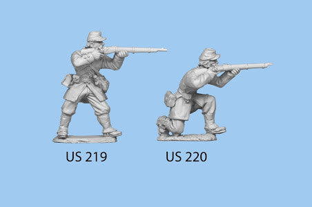US-219 Berdan's Sharpshooters / Group two / Standing / Firing