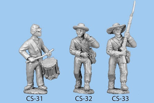 CS-31 Confederate Infantry in Shell Jacket / Drummer