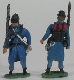 8 Figures - Greatcoats - Kepis - Marching