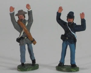 8 Figures - Surrendering - Mixed uniforms