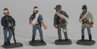 Casualties - 8 Figures - Walking wounded - Mixed poses