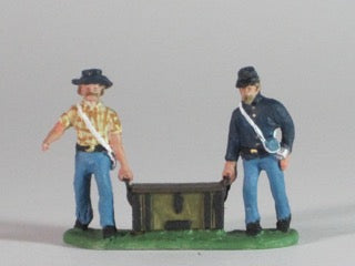 Artillery crew - Chest carriers (3 sets of 2 men carrying chests)