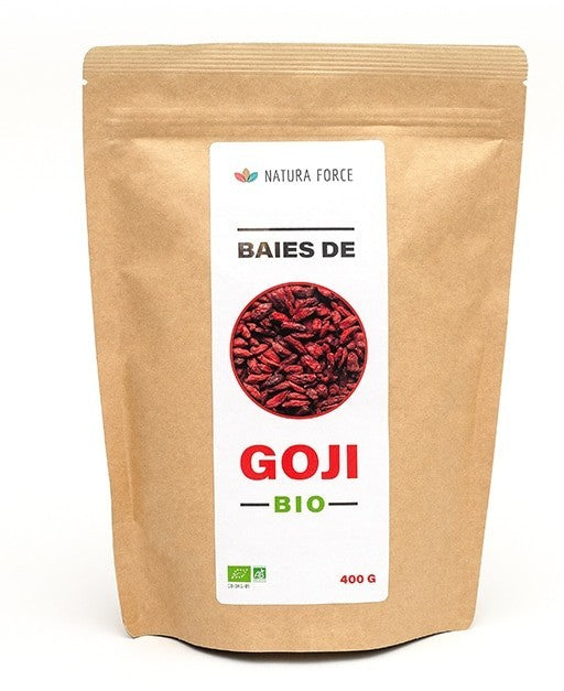 NATURA FORCE-Baies de Goji BIO- 400g