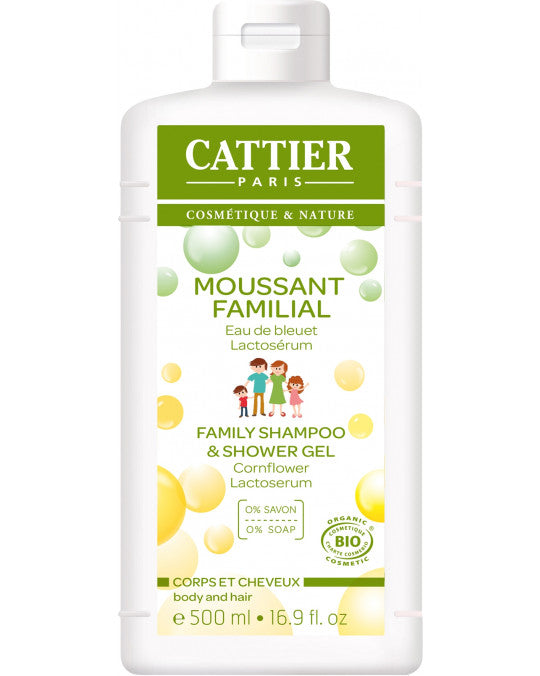CATTIER BIO Moussant Familial au Lactoserum - 500 ml