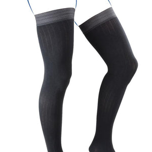 THUASNE BAS CUISSES HOMME COMPRESSION CONTENTION CITY CONFORT COTON CLASSE 3