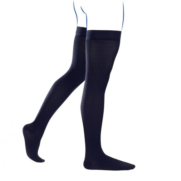 THUASNE BAS CUISSES HOMME COMPRESSION CONTENTION CITY ECOSSE CLASSE 2