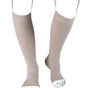 THUASNE CHAUSSETTES HOMME COMPRESSION CONTENTION ELEGANCE PIEDS OUVERTS CLASSE 3