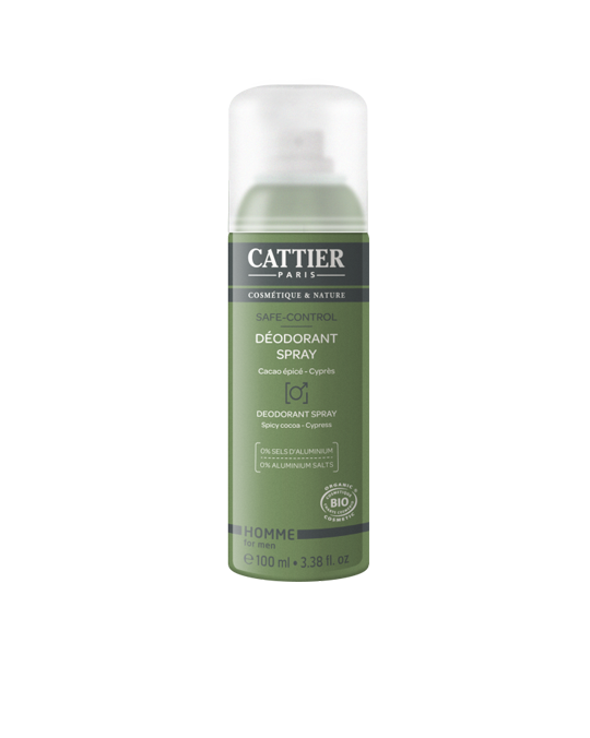 CATTIER BIO Déodorant Spray - Safe-Control - 100 ml