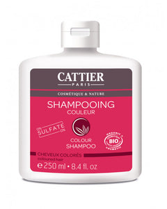 CATTIER BIO Shampooing Sans Sulfates Cheveux Colorés - 250 ml