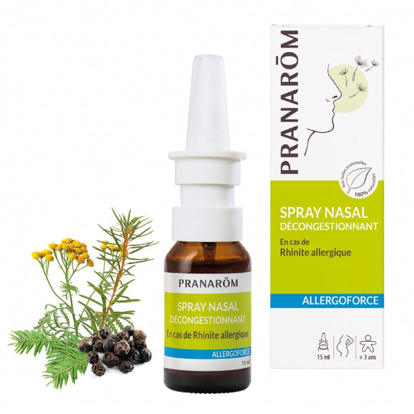 PRANAROM-Spray nasal DECONGESTIONNANT 15 ml DM
