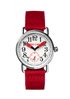 """Unleashed"" white & red Arabic 39 mm"