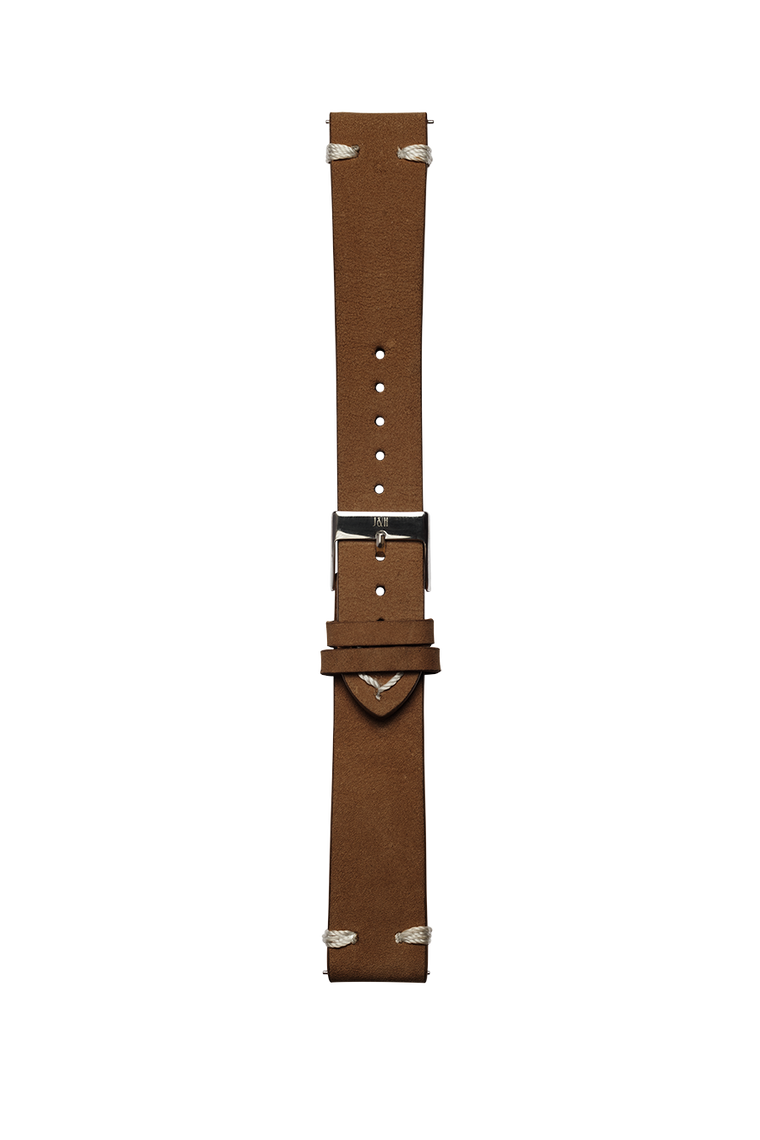 Leather brown strap - Jekyll & Hyde Watches