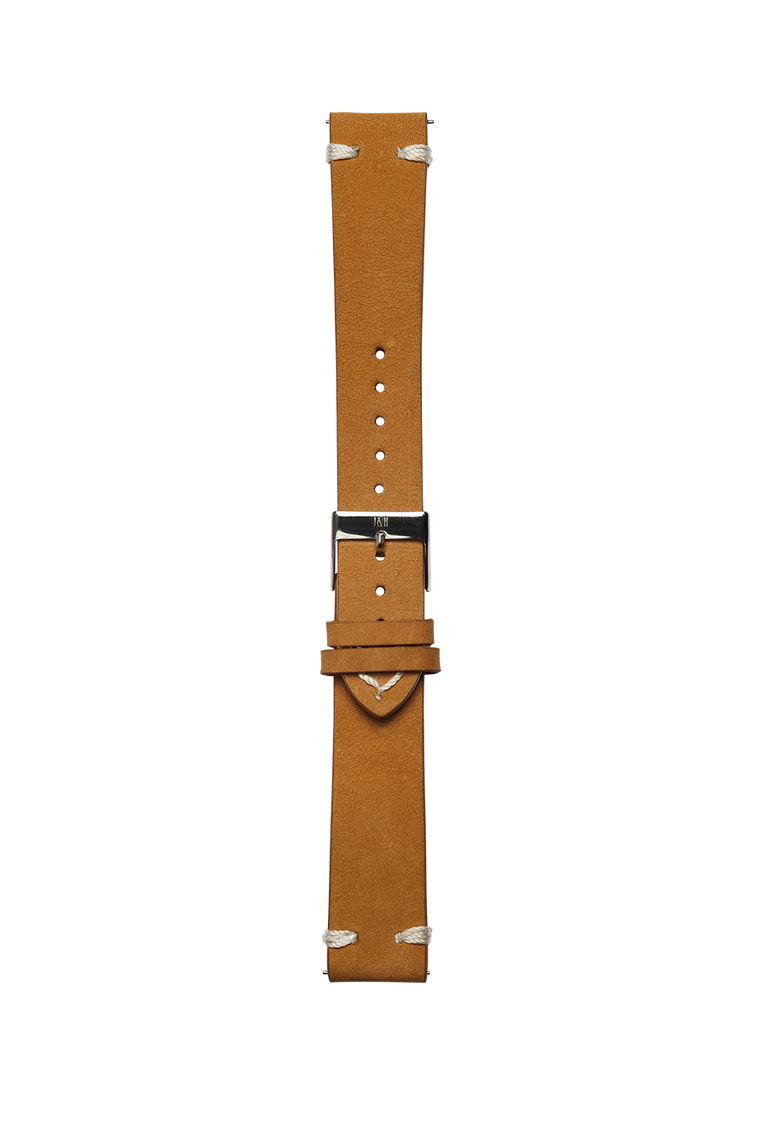 Leather cognac strap - Jekyll & Hyde Watches