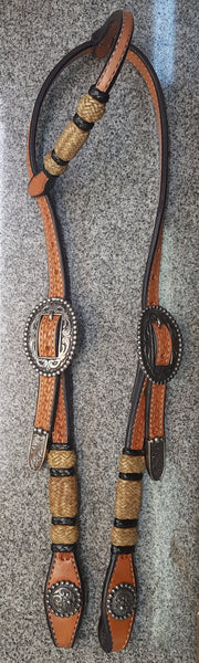 BRAIDED SINGLE EAR HEADSTALL