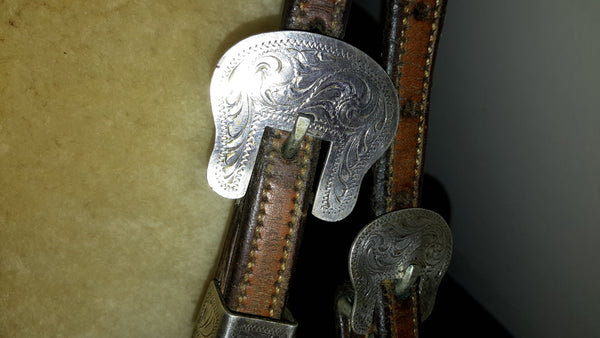 CUSTOM BRAIDED MJ LIGGETT SHOW HEADSTALL
