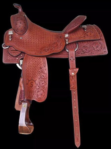 CUSTOM REINING SADDLE 2