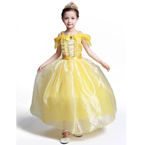 Princess Belle Beauty And The Beast Costume