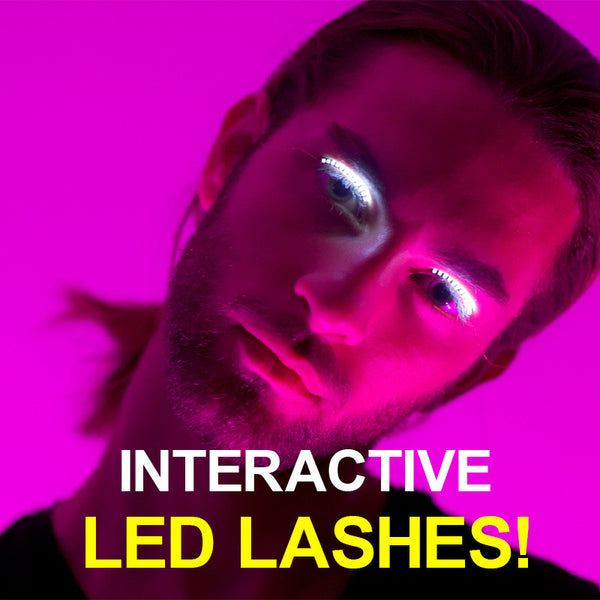 LED Glowing Eyelashes - Flashes