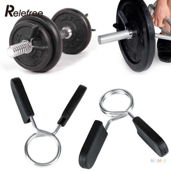 Clamp Clips for Weight Bar Dumbbell 2x