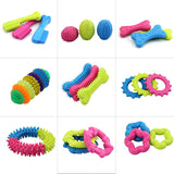 Chewing teeth cleaning dog toys