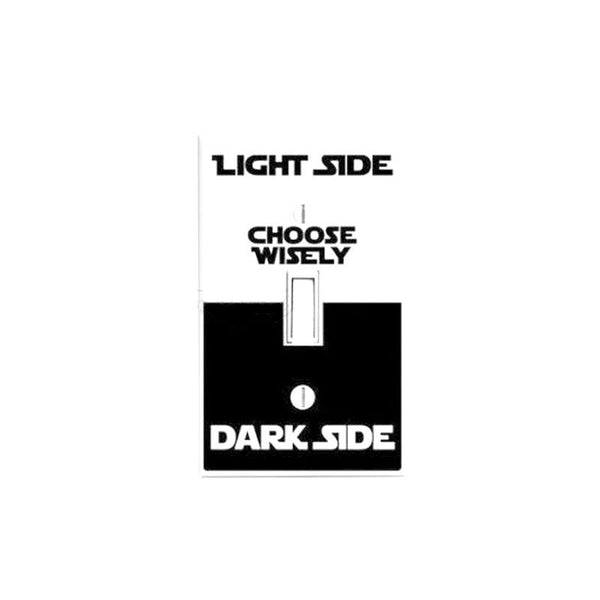 Star Wars Wall Sticker Dark Light Side Vinyl