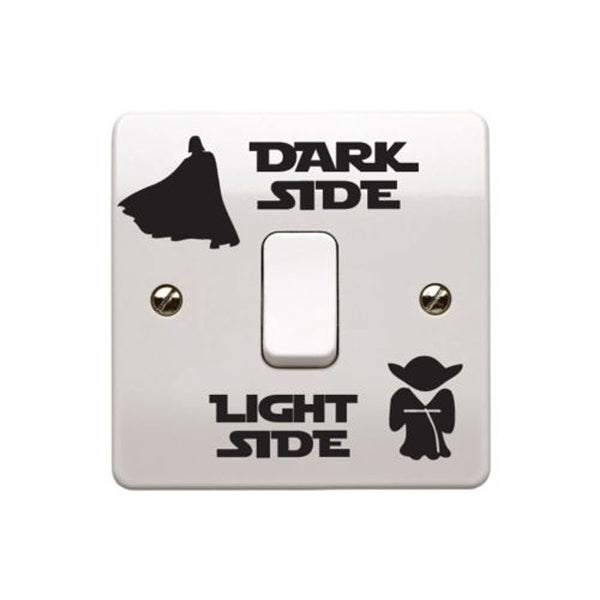 Dark Side Light Side Switch Sticker 2