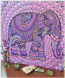 Wall Elephant Tapestry