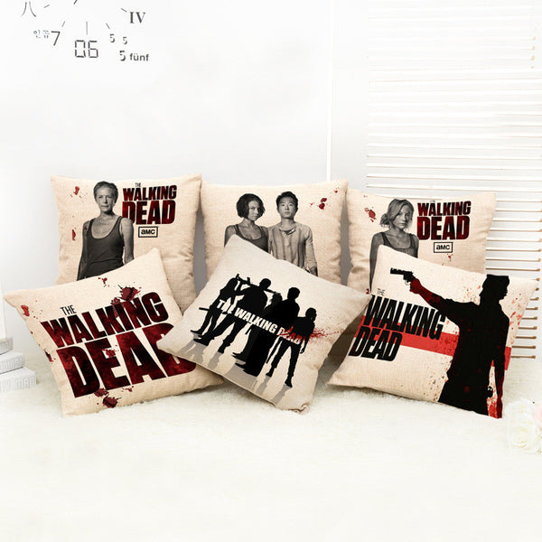 The Walking Dead Pillow Covers