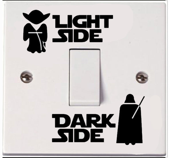 Dark Side Light Side Switch Sticker