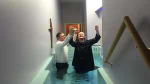 Baptized and Received the Holy Ghost after Water & Spirit