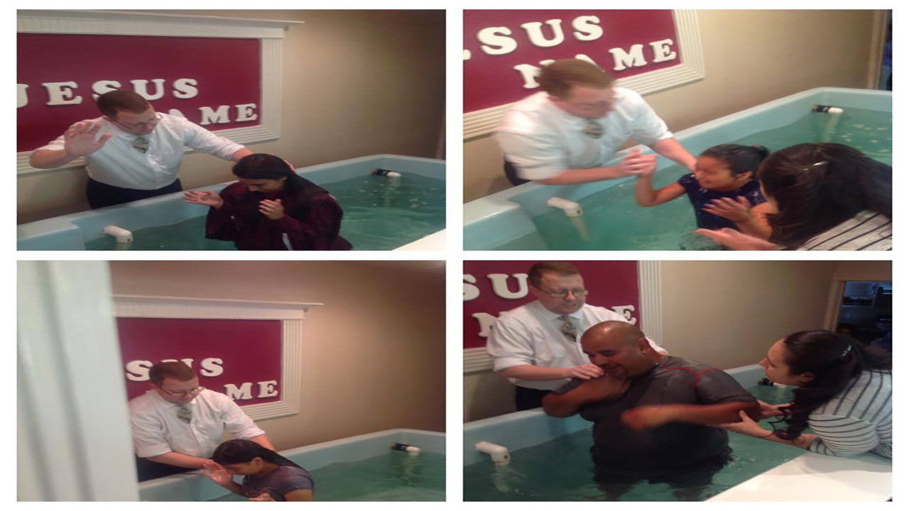 Mike Continues to Baptize More Family Members