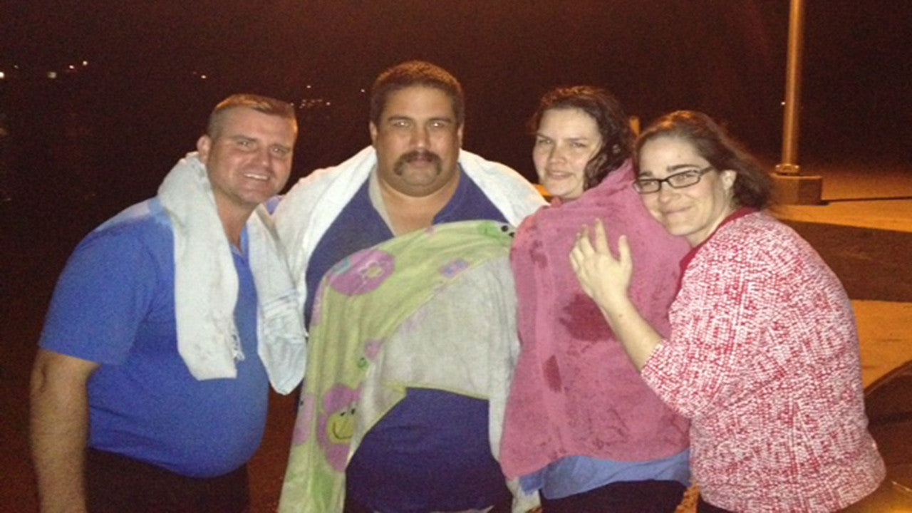 Baptized in a Lake at 10PM after Water & Spirit!