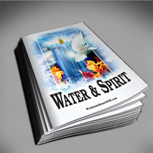 Water & Spirit Soulwinner Special 50 Study Guides + 50 Bookmarks - Water and Spirit Born Again Bible Study - - 3