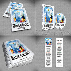 Water & Spirit Special Deal + 20 Study Guides - Water and Spirit Born Again Bible Study - - 1
