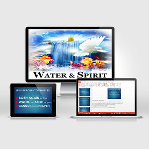 Water & Spirit PowerPoint (Digital Download) - Water and Spirit Born Again Bible Study -