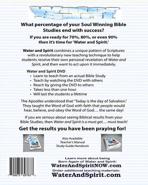 Water & Spirit Everything Deal + 35 Study Guides - Water and Spirit Born Again Bible Study - - 3