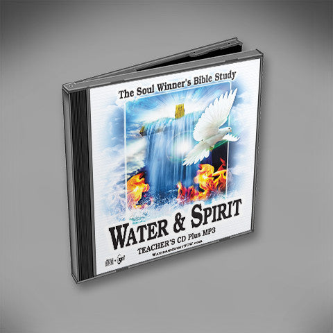 Water & Spirit Audio CD/MP3 + 5 Study Guides - Water and Spirit Born Again Bible Study -