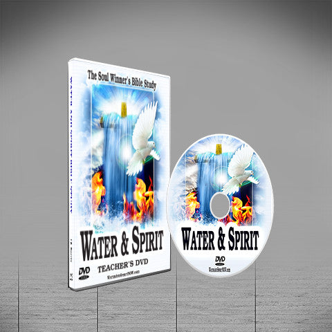 Water & Spirit Teacher's DVD + 5 Study Guides - Water and Spirit Born Again Bible Study -