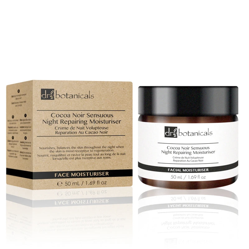 Shop Discounted Dr Botanicals Cocoa Noir Sensuous Night Repairing Moisturiser Online | Unbox Happiness
