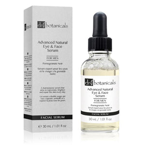 Dr Botanicals Pomegranate Noir Advanced Eye & Face Serum for Men | Unbox Happiness