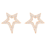 Latelita London Open Star Stud Earring Rosegold | Unbox Happiness