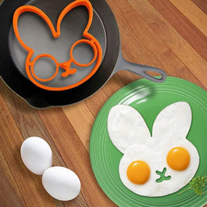 Shop Funny Side Up Silicone Egg Molds Online | Unbox Happiness