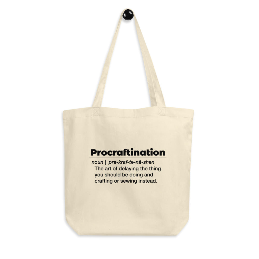 Procraftination Tote bag