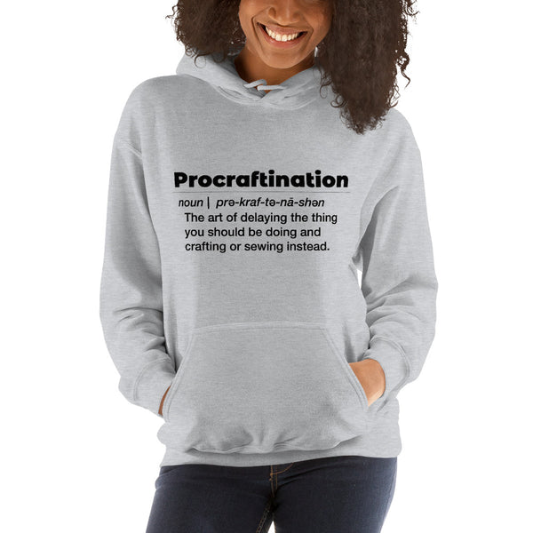 Procraftination Hooded Sweatshirt