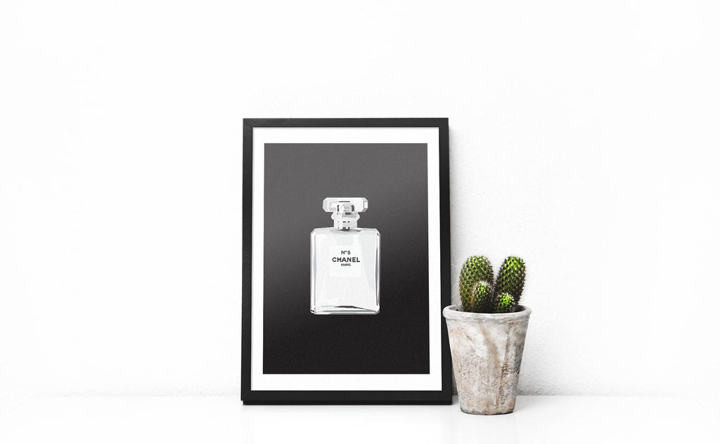 Chanel Eau De Parfum - Black - DG Designs