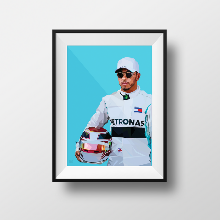 Lewis Hamilton - Limited Edition - DG Designs