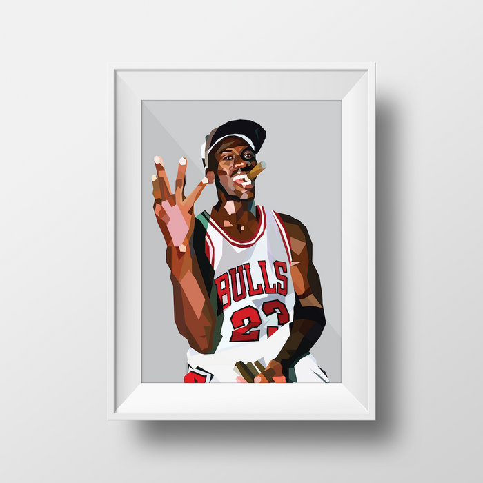 Michael Jordan - DG Designs